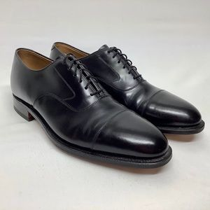 Johnston & Murphy Size 10.5 M Oxfords cap toe
